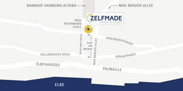 ZELFMADE live events | event agency | Picture: How to find us